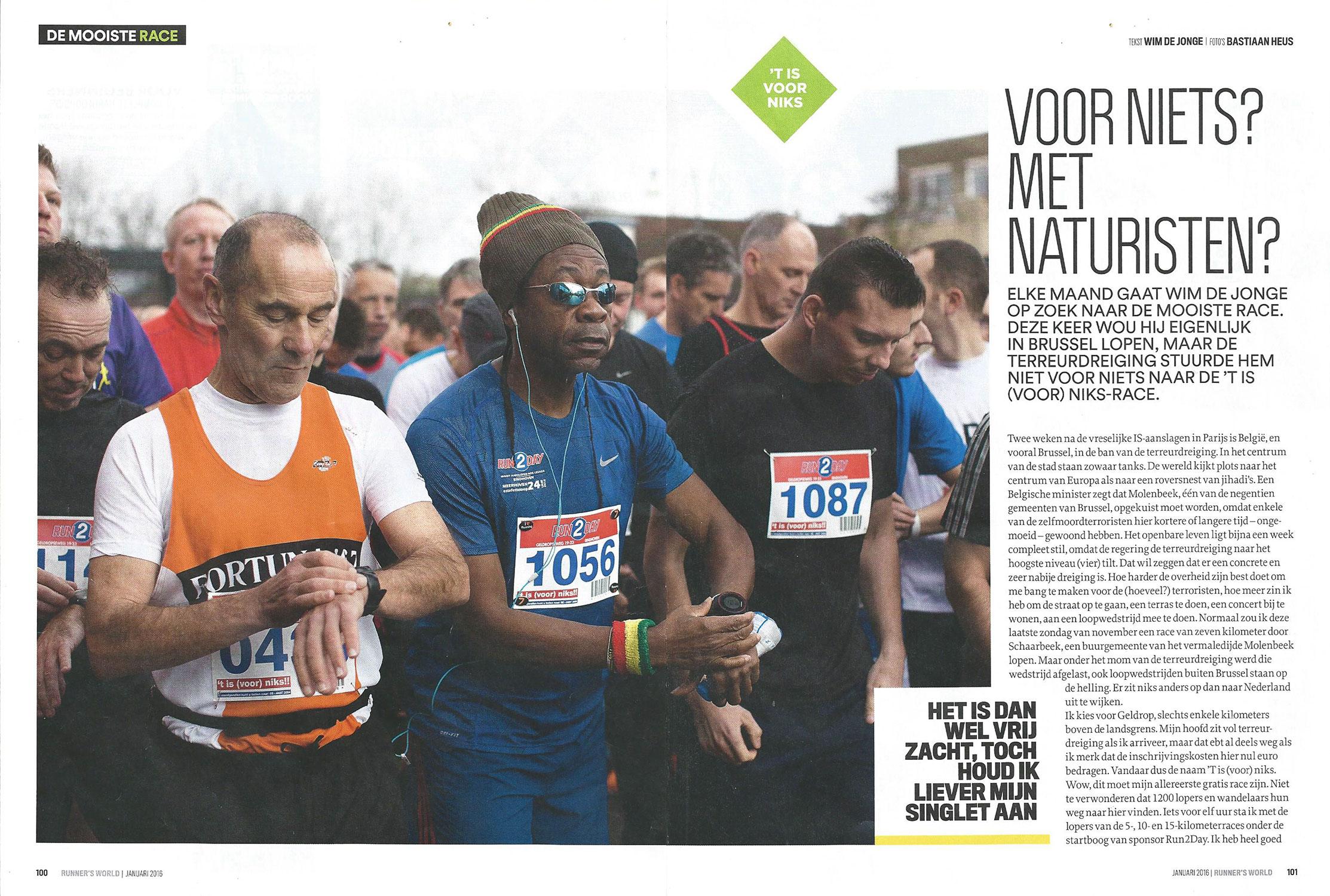 Artikel Runnersworld 2016 - Pagina 1/2
