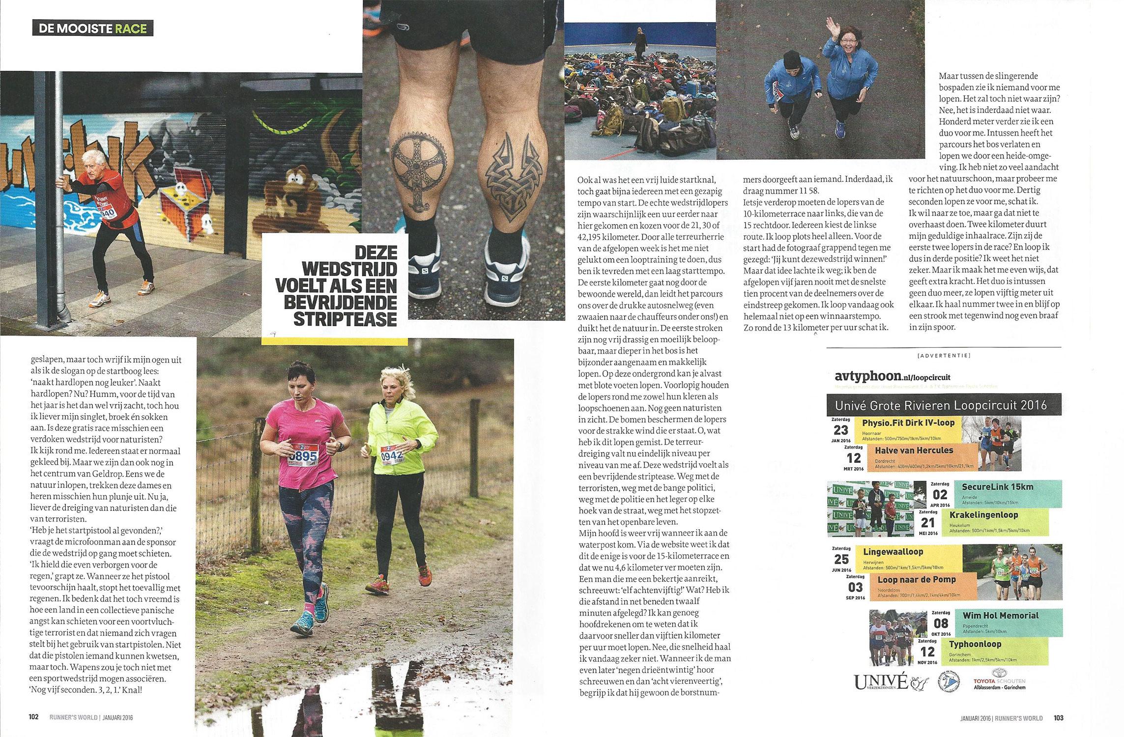 Artikel Runnersworld 2016 - Pagina 3/4